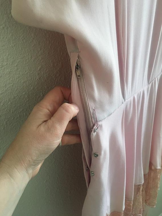 Rose Floor-length Peplum Dress late 30's to early… - image 2