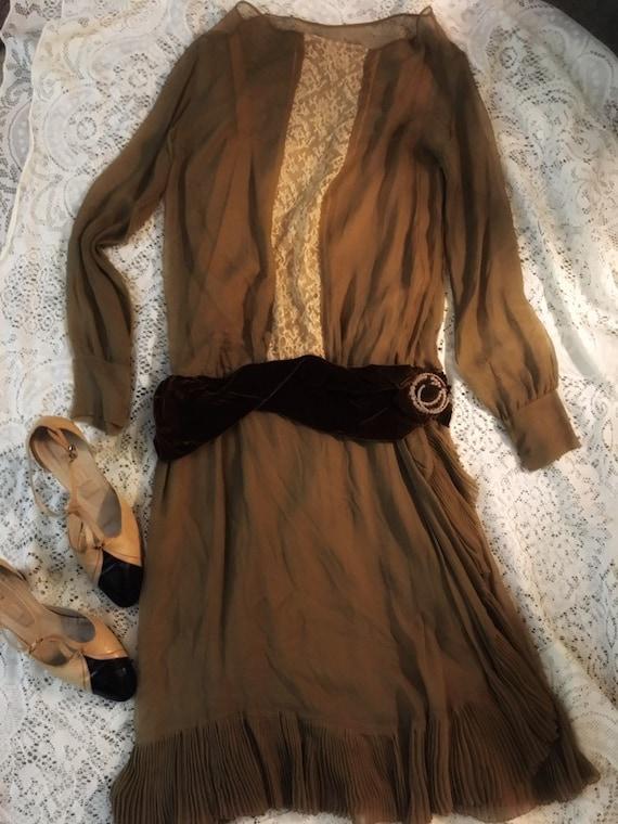 1920s True Vintage Flapper Dress
