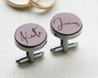 INITIALS - wedding personalized cufflinks