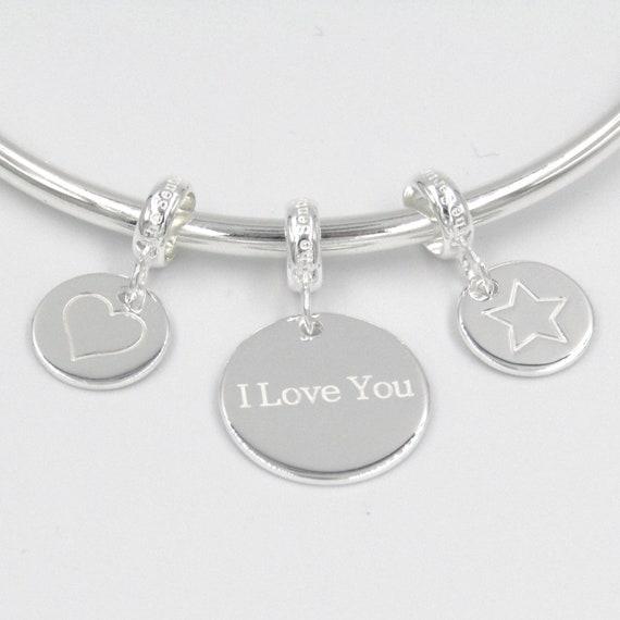 0157 Gran charme charme charme en argent Sterling 925 étreintes comme un mère universelle pendentif cintre perle cadeau souvenir f870d9