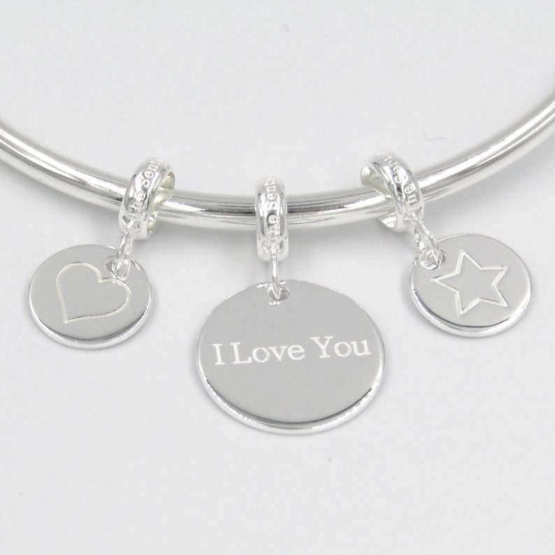 Plated Room In Your Heart Boy Girl Baby 0305 New Mum Gift Charm for Bracelet Silver 925