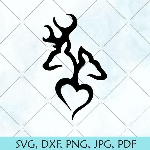 532+ Deer Love Svg for Silhouette