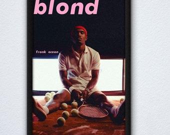 5b14744d1 Frank Ocean Blond Album Poster / Frank Ocean Poster / Blonde Poster / Blond  Poster / Music Poster / Frank Ocean Album Artwork / R&B Poster