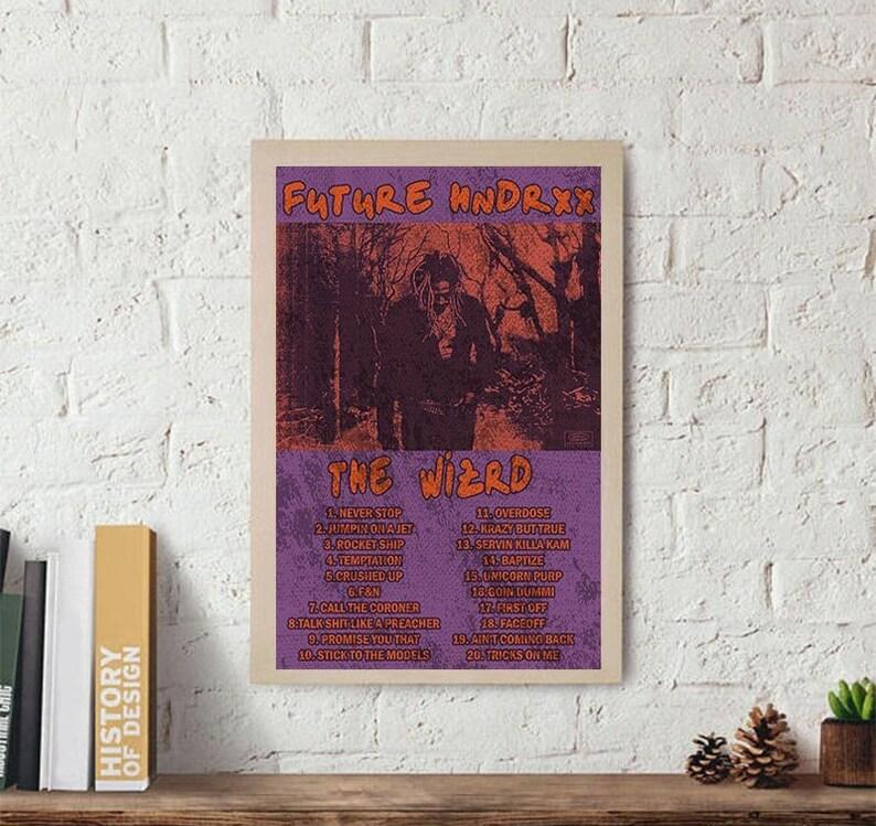 Future The Wizrd Album Poster // Future Poster // Future Hndrxx Poster //  Future Album Poster // Future Rap Poster // Hip Hop Poster // Rap