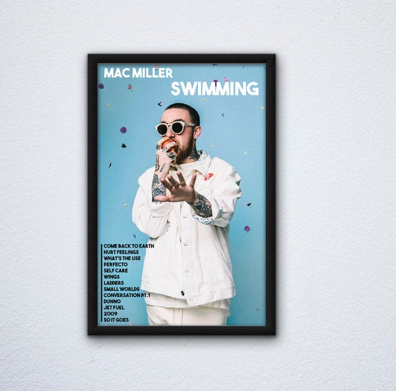 New Mac Miller Go Od Am Custom Silk Poster Wall Decor