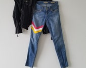 Candy Shop painted jeans