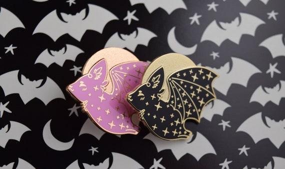 Star Bat Hard Enamel Pin | Lapel Pin | Ita Bag, Flair, Kawaii | Galentine's  & Valentine's Day