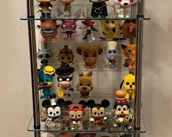 Acrylic Shelf Riser Display Fits 24 Funko POP