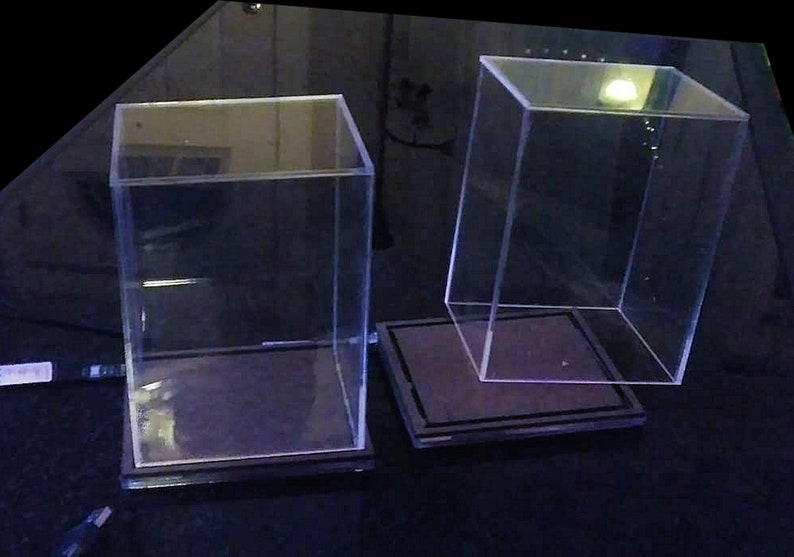 Acrylic Case, for Boxed Funko Pop (No Engraved Design, No LED)