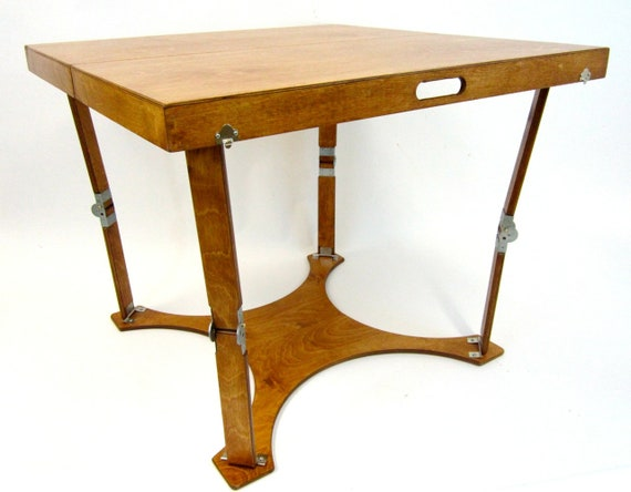 Pleasant Spiderlegs Folding Dining Table Caraccident5 Cool Chair Designs And Ideas Caraccident5Info