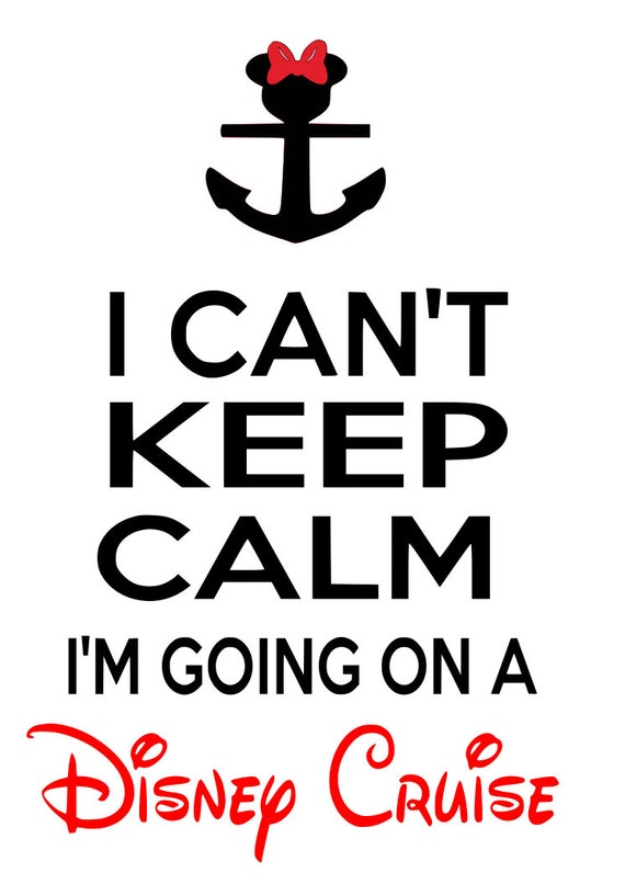 image regarding Mickey Anchor Printable named disney, i cant retain serene im relocating upon a disney cruise, mickey, minnie, anchor, printable, silhouette, cricut, immediate down load