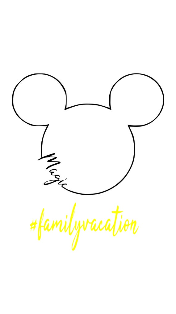 graphic relating to Disney Silhouette Printable known as disney, magic relatives family vacation, spouse and children, matching shirts, mickey mouse, allows do this, printable, silhouette, cricut, fast obtain