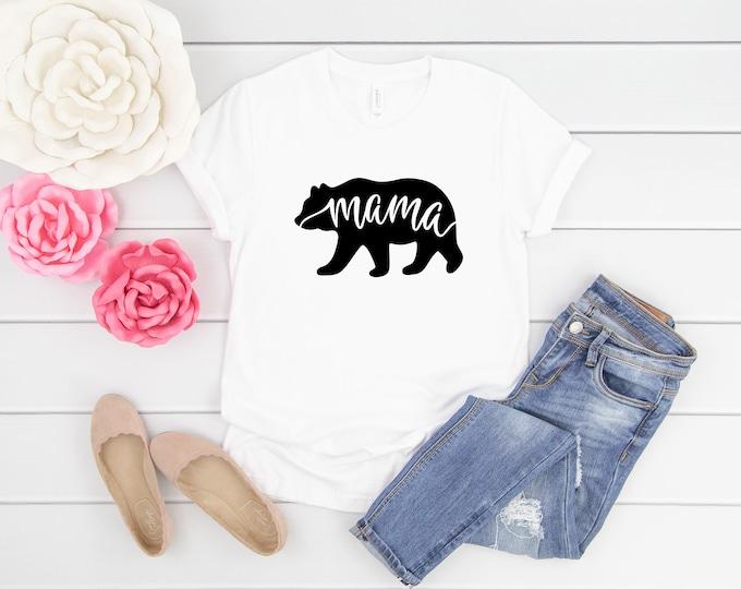 Mama Bear 3 Short Sleeve Shirt