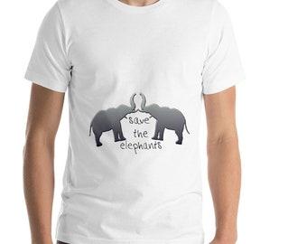 3d1bf84ef635f1 save the elephants t shirt   t shirts with elephants on them   clothes with  elephants on them   white elephant shirt   elephant print shirt