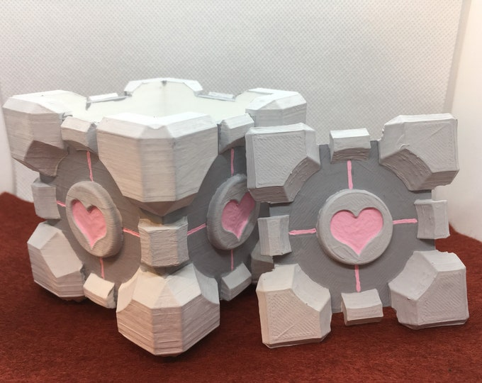 Companion Cube Box 3D print