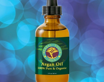 Argan Oil - Organic Massage and Body Oil by Herbal Touch Oils