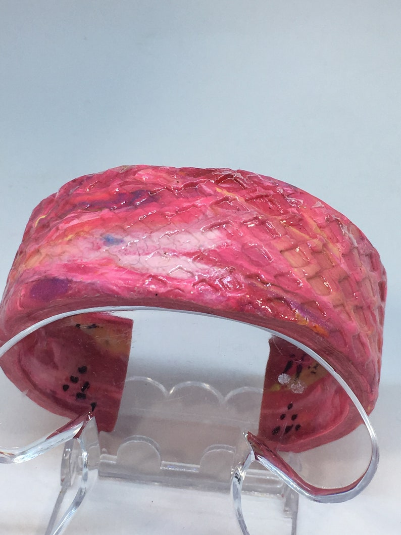 Handmade Polymer Clay Jewelry Handmade Polymer Clay Bracelets image 0