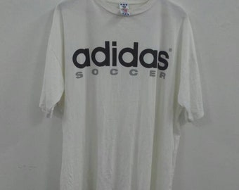 2471a37c0 Vintage adidas big spellout adidas soccer tee XL size