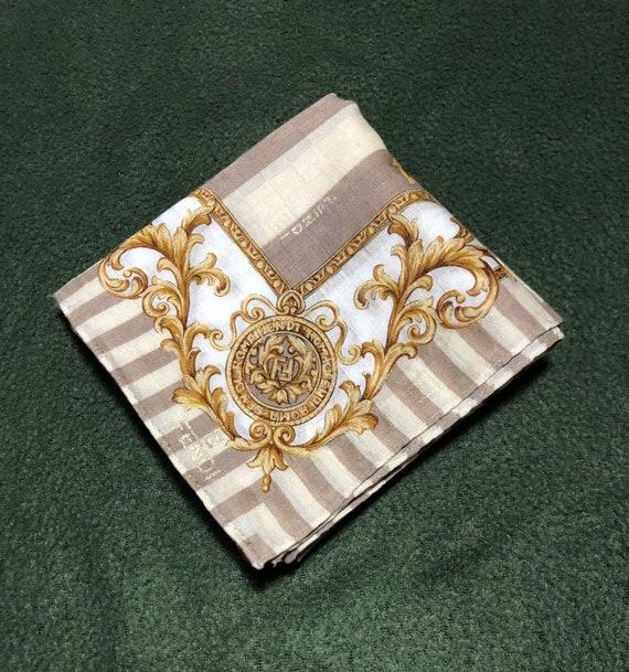Fendi baroque pattern handkerchief