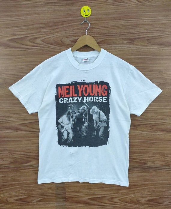 Vintage Early 2000 Neil Young Crazy Horse Tour Med