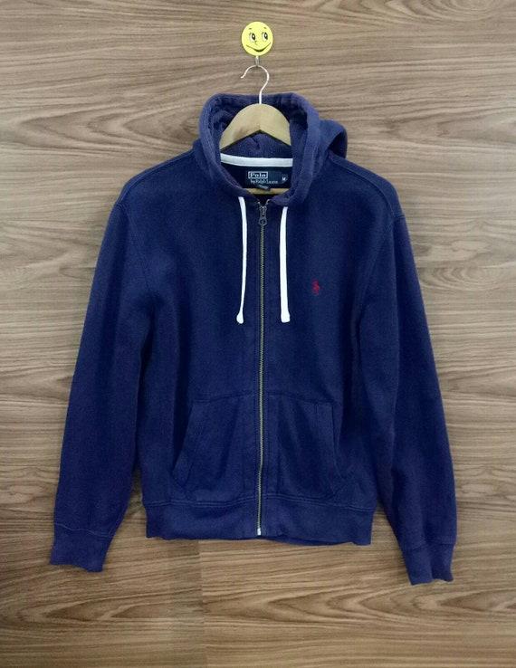 Vintage 90s Polo by Ralph Lauren zipper hoodie Med