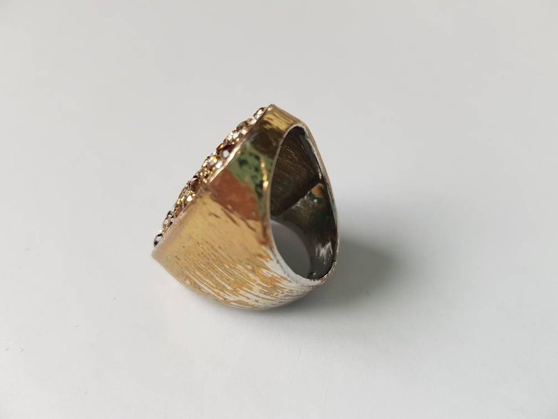 Gold Bling!!! Statement Rings