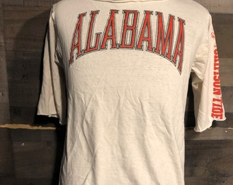 University of Alabama Crimson Little Girl Long Sleeve Glitter Tee