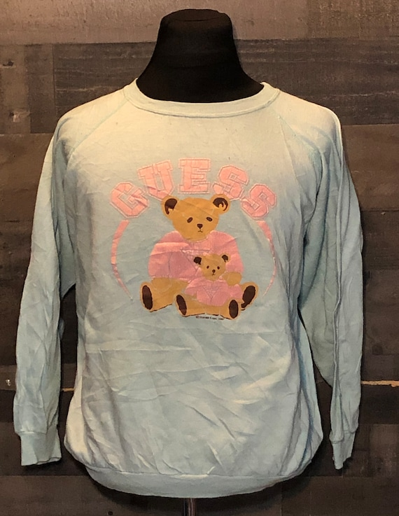 Vintage Guess Jeans Guess Bears 1980s Crewneck Swe
