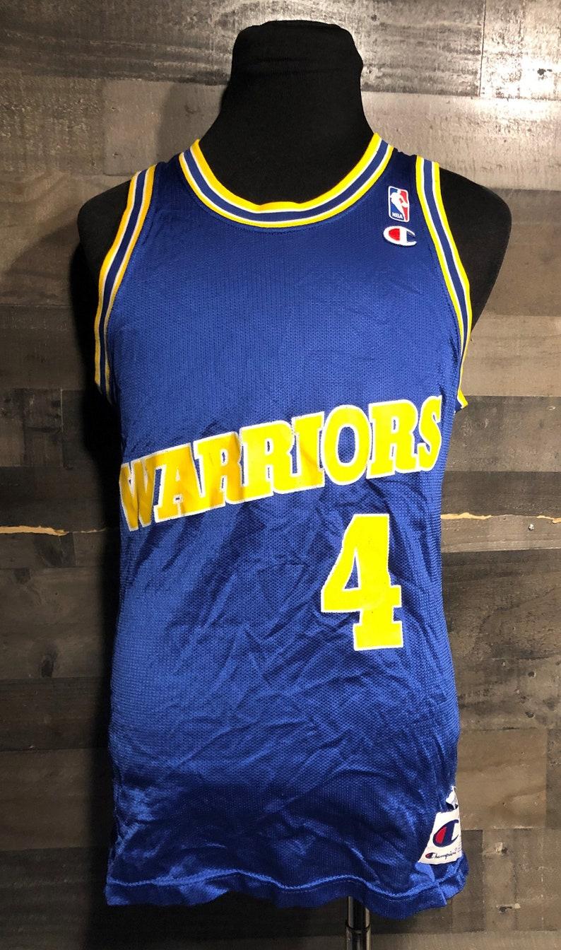 5d90928d Vintage 90s Chris Weber Golden State Warriors NBA Basketball | Etsy
