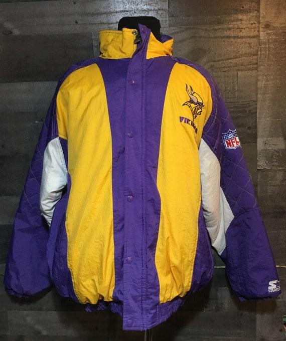 Vintage 90s Minnesota Vikings Starter Pullover NFL