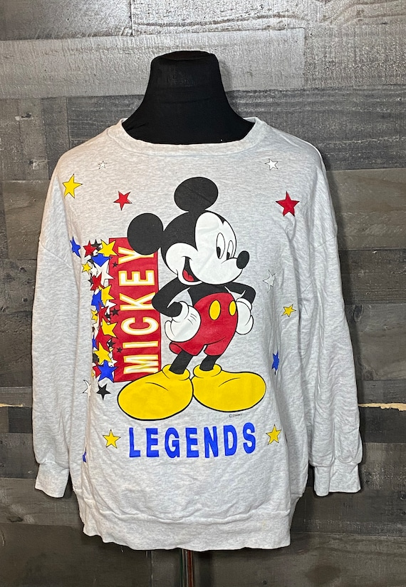 Vintage Mickey Mouse Legends 1990s Mickey Unlimite