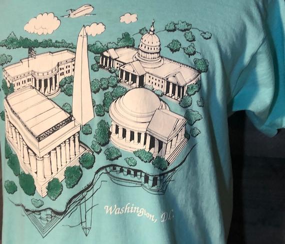 Vintage 80s Washington DC Travel Tourism Tourist … - image 3