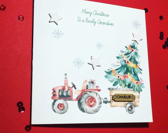 GREAT-GRANDSON  ~ Quality CHRISTMAS Card ~ CHOICE of DESIGN