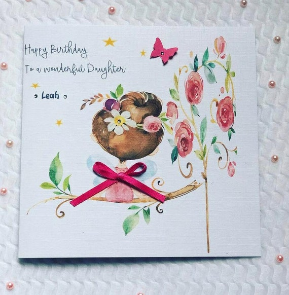7e 4e 8e 2e 3e 6e Personnalisé Garçon happy birthday card 1er 5e