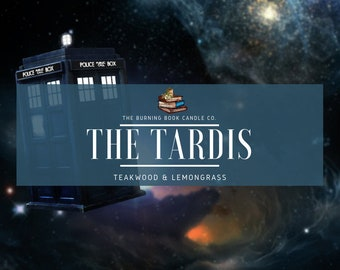 The Tardis - Soy Candle - Doctor Who