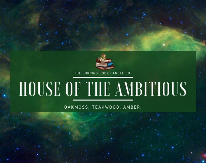 House Pride: Ambition - Soy Candle - Harry Potter