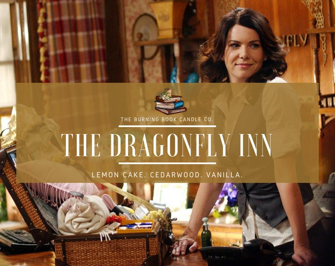 The Dragonfly Inn - Soy Candle - Gilmore Girls