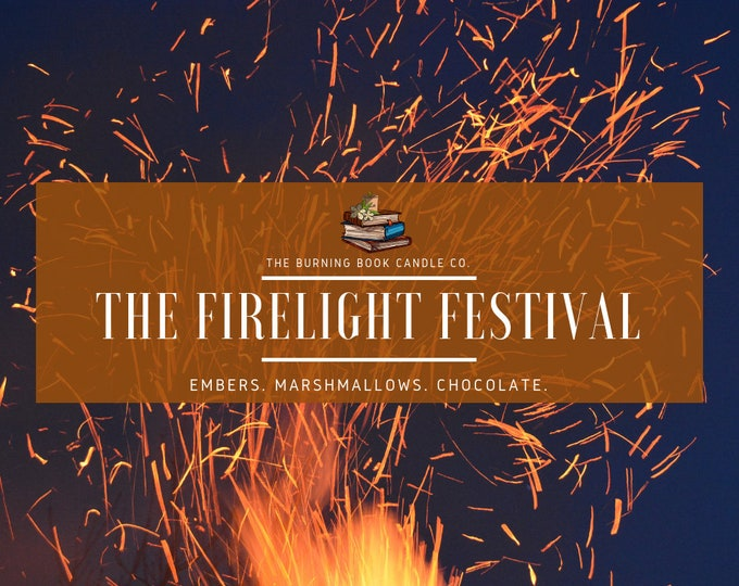 The Firelight Festival - Soy Candle - Gilmore Girls