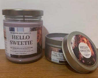 Hello, Sweetie - Soy Candle - Doctor Who