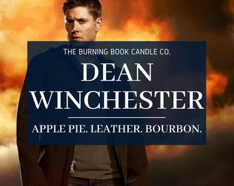 Dean Winchester - Soy Candle - Supernatural