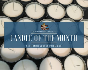 Candle of the Month - Subscription Box - 6 Months