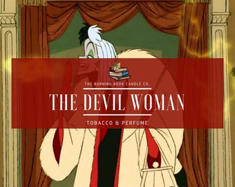 The Devil Woman - Soy Candle - Cruella de Vil