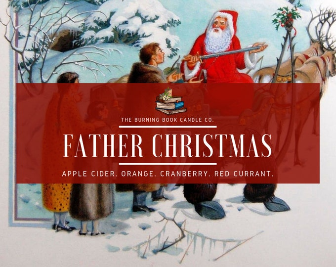 Father Christmas - Soy Candle - Chronicles of Narnia