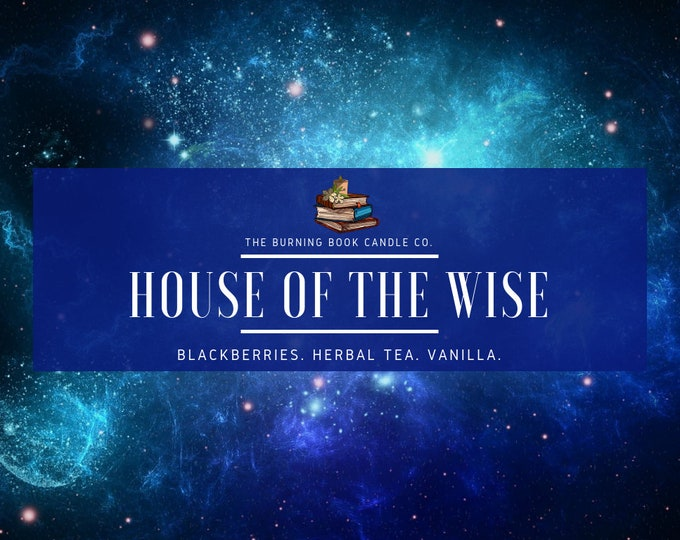 Featured listing image: House Pride: Wisdom - Soy Candle - Harry Potter
