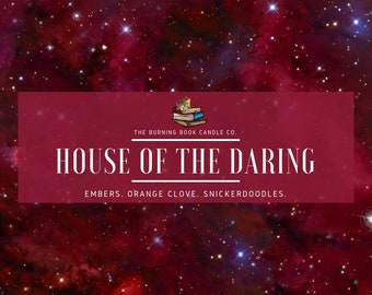House Pride: Daring - Soy Candle - Harry Potter
