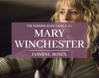 Mary Winchester - Soy Candle - Supernatural