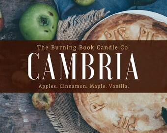 CAMBRIA - 4 oz Soy Candle