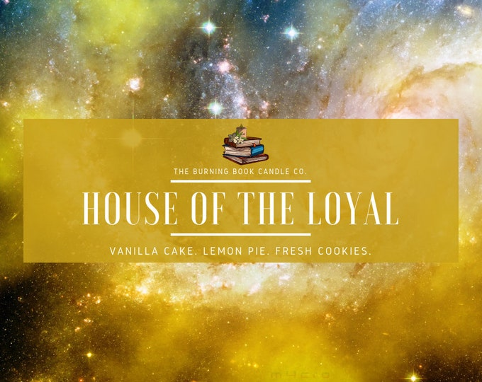 House Pride: Loyalty - Soy Candle - Harry Potter