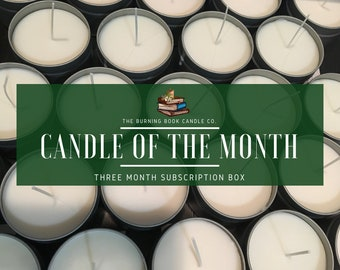 Candle of the Month - Subscription Box - 3 Months