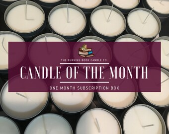 Candle of the Month - Subscription Box